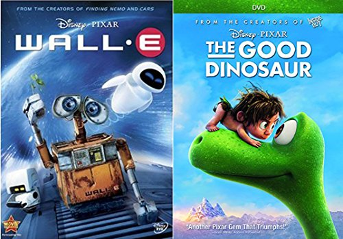 Disney Animated Feature Bundle - Wall-E & The Good Dinosaur 2-DVD Collection