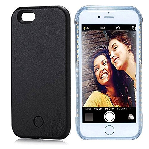 Vanjunn Selfie LED Light Case for Iphone 5S 5SE - For Cell Phone with Rechargeable Backup - Instagram Iphone Case 5s