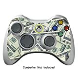 Cheap Skin Stickers for Xbox 360 Controller – Vinyl Leather Texture Sticker for X360 Slim Wired Wireless Game Controllers – Protectors Stickers Controller Decal – Big Ballin [ Controller Not Included ]