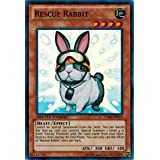 Unlimited Edition x3 Rescue Rabbit Near Mint Common SR04-EN020