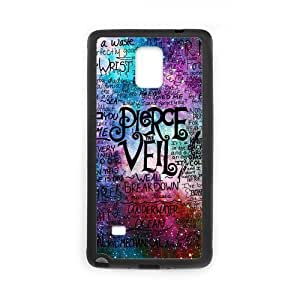 Colorful Pierce The Veil Style Custom Personalized Laser Plastic and TPU SamSung Galaxy Note4 Case Cover