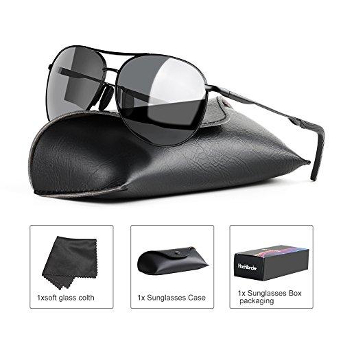 Polarized Sunglasses for Men Women Hochllander Mens Sunglasses 100% UV Protection Classic Aviator Sunglasses