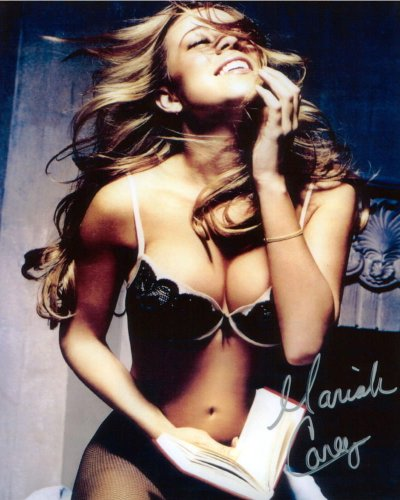 Mariah Carey Sexy Autographed Signed 8 X 10 Reprint Photo - Mint Condition from Nostalgic Cards & Autographs