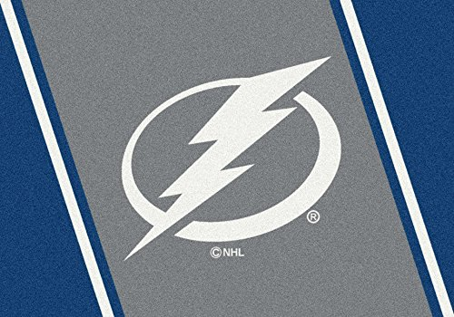 Milliken Tampa Bay Lightning NHL Team Spirit Area Rug by, 2'8
