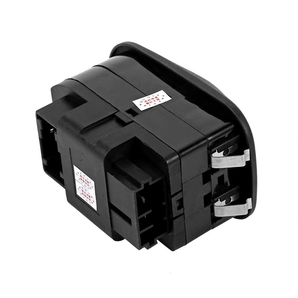 Interruptor de control de espejo de bot/ón de elevaci/ón de ventana el/éctrica Reemplazo del interruptor de la ventana de energ/ía el/éctrica
