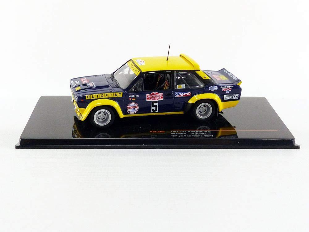 Amazon.com: IXO Car Miniature de Collection, RAC266, Blue/Yellow: Toys & Games
