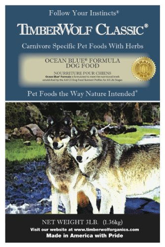 TimberWolf Ocean Blue Classic Formula Dry Dog Food- 3 Lbs.