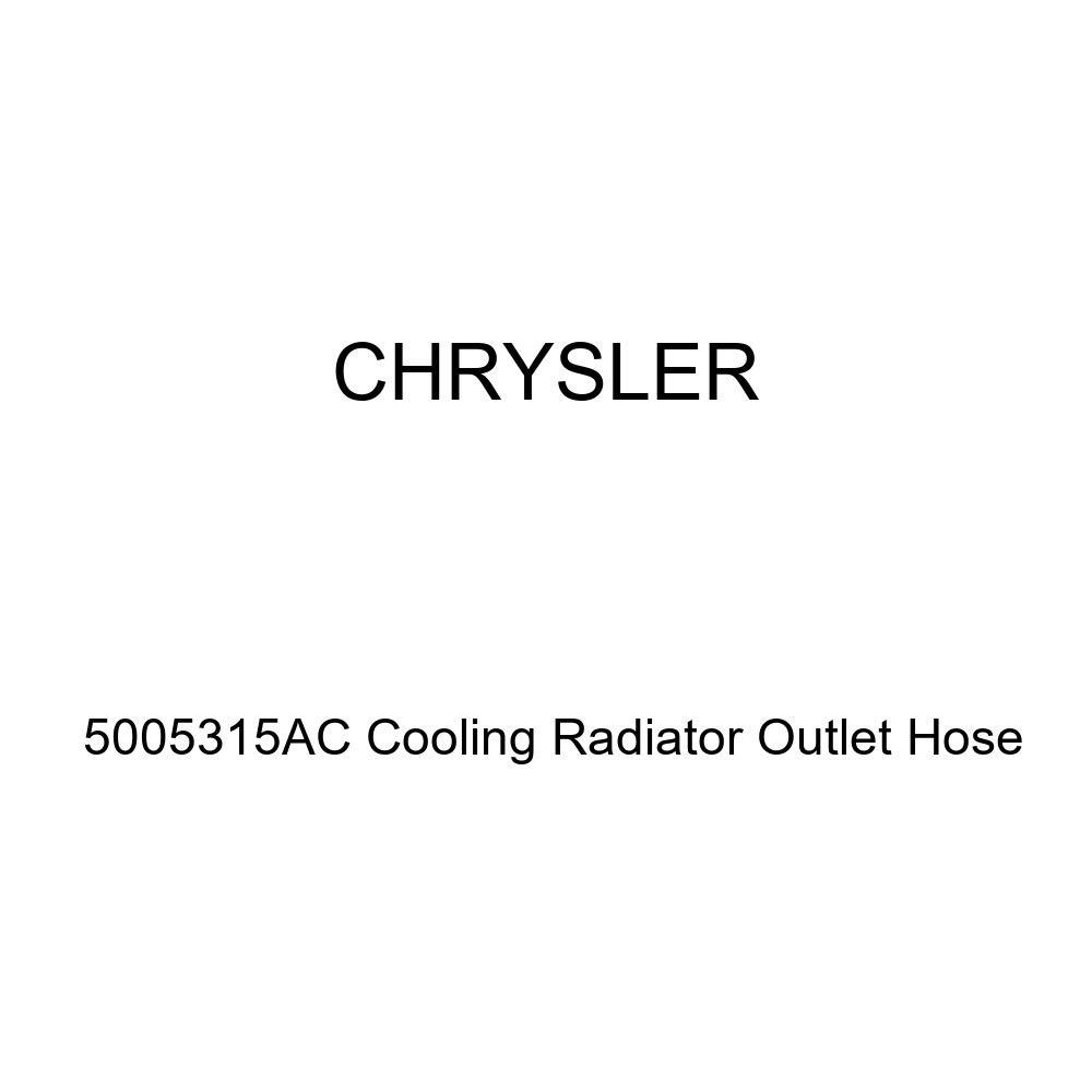 Genuine Chrysler 5005315AC Cooling Radiator Outlet Hose
