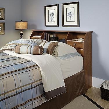 Sauder Shoal Creek Oiled Oak Headboard, Full/Queen