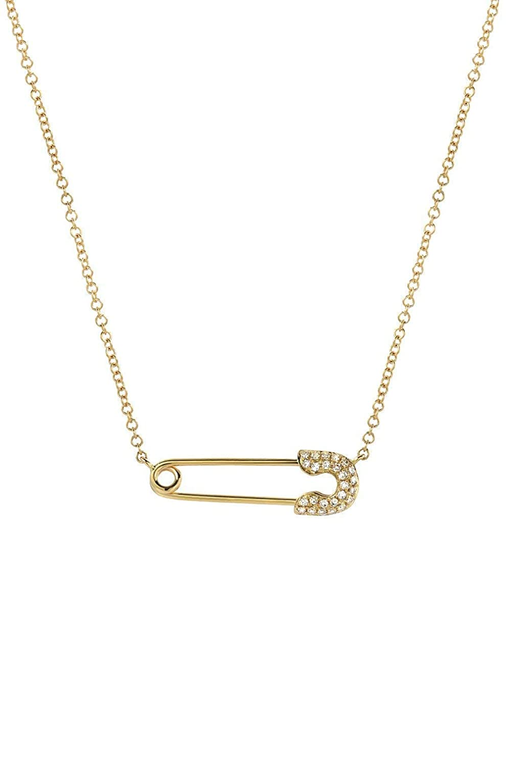 safety pin Gold Safety Pin Pendant Safety Pin Necklace Gold Connector Charm diaper pin pendant holder pin for clothing 20pcs