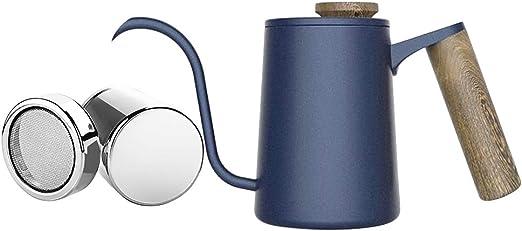 Timagebreze Kit de Cafetera de Acero Inoxidable con Cafetera Espresso y Cafetera: Amazon.es: Hogar