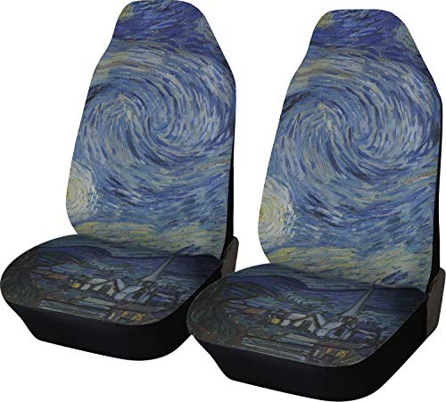 Night (Van Gogh 1889) Car Seat Covers (Set of Two) ()