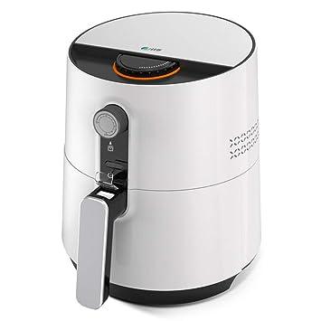 MIAO@LONG Eléctrico Freidora de Aire Control de Temperatura Inteligente Cocina sin Aceite Máquina de Papas Fritas con Mango Anti-Caliente para Comida rápida ...