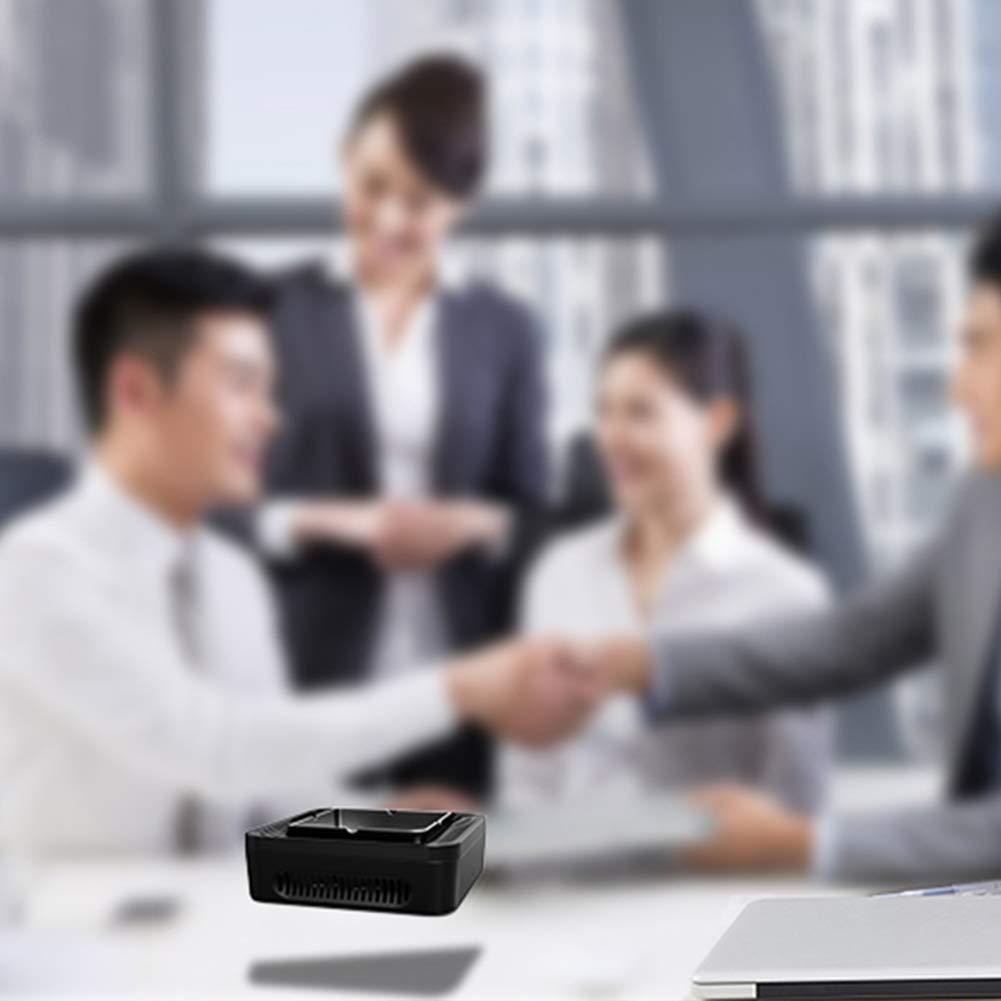 B Aemiy Cenicero Purificador de Aire Presi/ón Alta Negativos Ion Carga USB Dispositivo para Hogar Oficina Coche