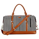 BAOSHA HB-14 Canvas Travel Tote Duffel Bag Carry on