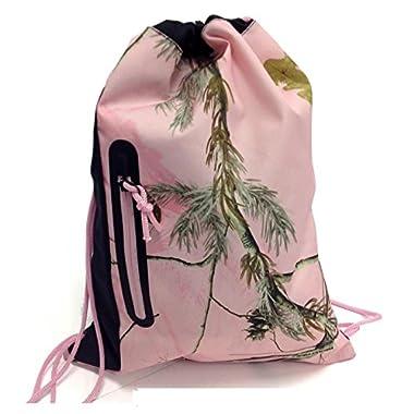 Realtree® Camo Cinch Drawstring Backpack (Pink)