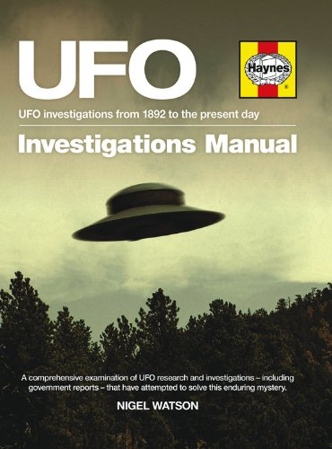 Download UFO Investigations Manual: UFO investigations from 1982 to the present day pdf epub