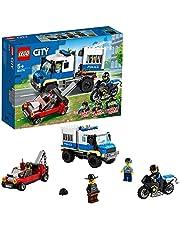 LEGO 60276 City Politie Gevangene Transport Sleepwagen Bouwset, Uitbreidingsset voor het Politiebureau