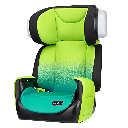 Evenflo Spectrum 2-in-1 Booster Car Seat, Seascape