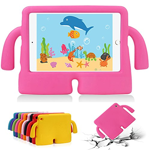 GOSE iPad 2 Kids Proof Case, iPad 3 Shockproof Case, iPad 4 Case, Light Weight Protective Cover For Kids, EVA Foam Stand & Hand [ ONLY fit for Apple iPad 2 3 4 9.7 Inch Screen ]