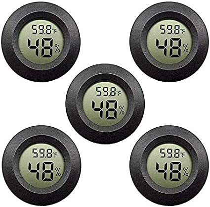 Wall-mounted Household Analog Thermometer Hygrometer Meter Monitor Humidity O5Y7