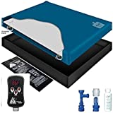 INNOMAX 60% WAVELESS WATERBED MATTRESS/LINER/DIGITAL HEATER/FILL DRAIN/CONDITIONER KIT (Super Single 48x84 1SF-1GT4)