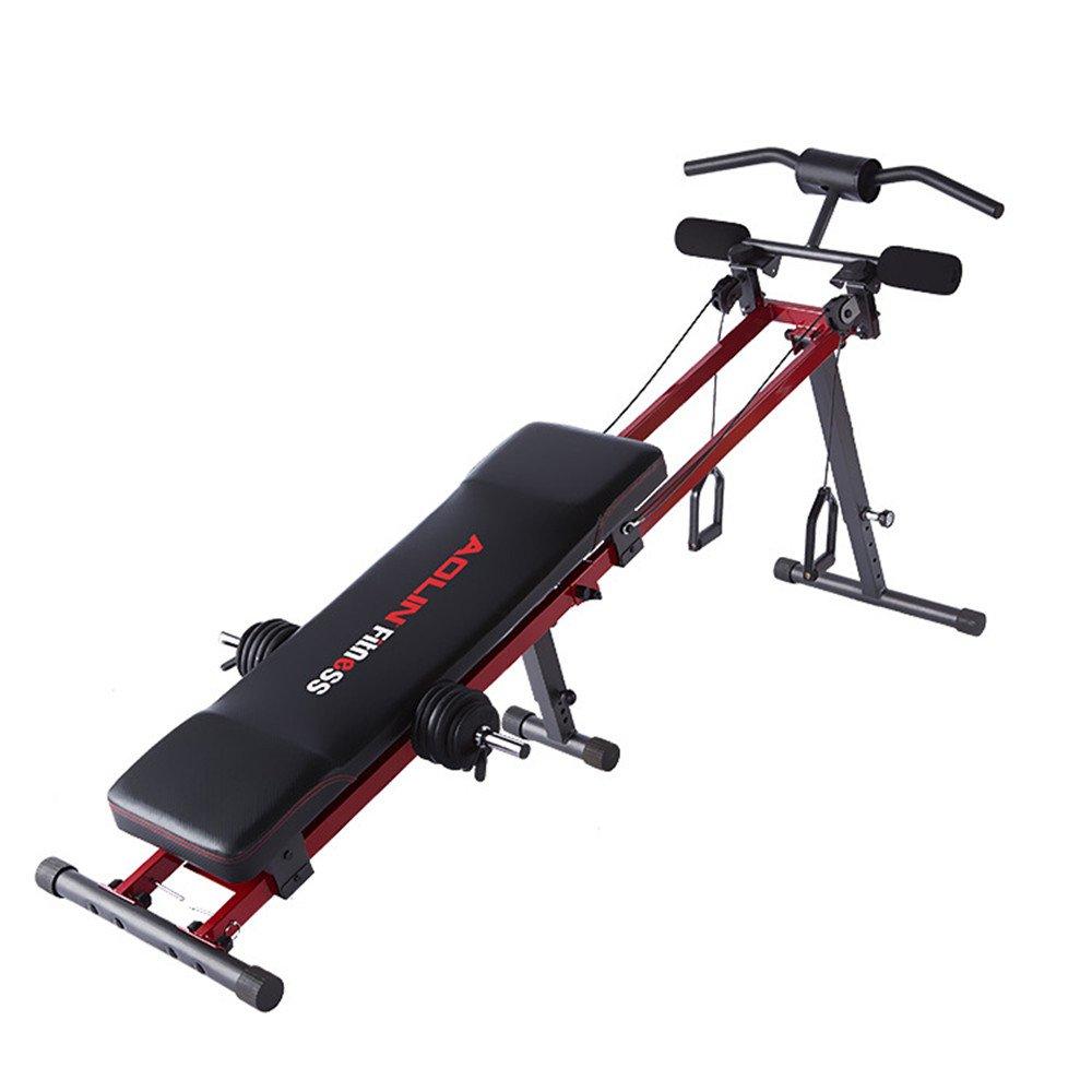 マルチシットアップベンチ シットアップベンチ 腹筋 背筋 全身を鍛えるマルチエクササイズ 男女兼用   B07C1HNVP8