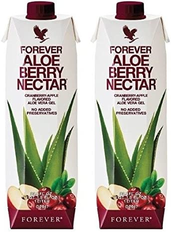 Forever Aloe Berry Nectar Pack of 2