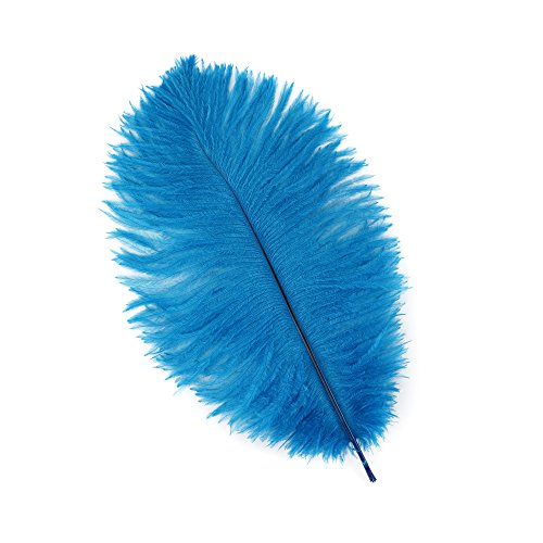 - Zucker Feather (TM) - Ostrich Feathers-Drabs Selected - Dark Turquoise
