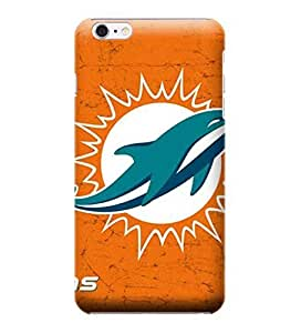 NFL-Miami Dolphins Skin Tough Phone Case Covers,Stylish Protective Covers Compatible For iphone 6(4.7) by mcsharks