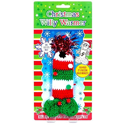 Christmas Willy Warmer Funny Rude Secret Santa Gift by Diabolical