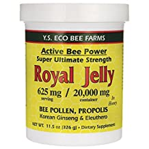 Y.S. Organic Bee Farms - #430 - Royal Jelly Active Bee Power - 11.5 oz.