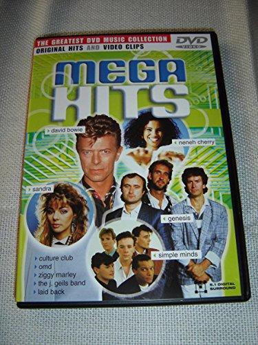 Mega Hits - Original Hits & Video Clips / Greatest DVD Music Collection / ENGLISH 5.1 Digital Surround Sound [DVD Region 0 PAL]