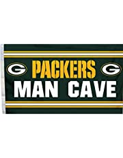 Man Cave - Green Bay Packers Flag - 3Ft x 5Ft