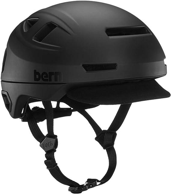 Bern Hudson - Casco de Ciclismo Unisex, Color Negro Mate, Talla S ...
