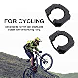 Bike Cleat Covers Set, 1 Pair Lightweight Plastic Road Bike Bicycle Cycling Shoes Cleat Protection Cover Pedal Rubber Cover for Speedplay