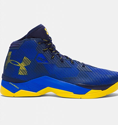 Under Armour Mens UA Curry 2.5 Basketball Shoes - Team Royal/Midnight Navy/Taxi