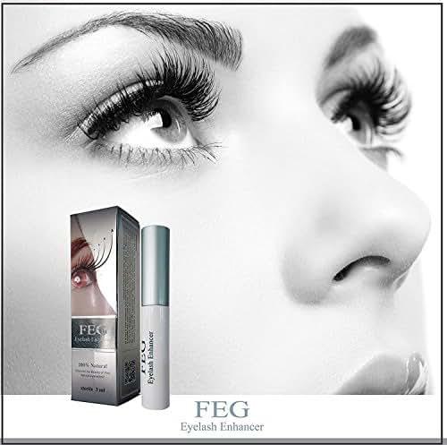 FEG Eyelash Enhancer Growth Liquid/Serum. 100% Original with Anti-Fake sticker!!! + Eyelashs and eyebrow brush!!!