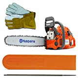 "Husqvarna 460 Rancher (60cc) Chainsaw With 24"" Bar and Chain Plus 3 WoodlandPRO Chain Loops"