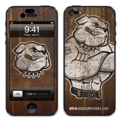 Diabloskinz B0081-0064-0008 Vinyl Skin für Apple iPhone 5/5S Winston 2