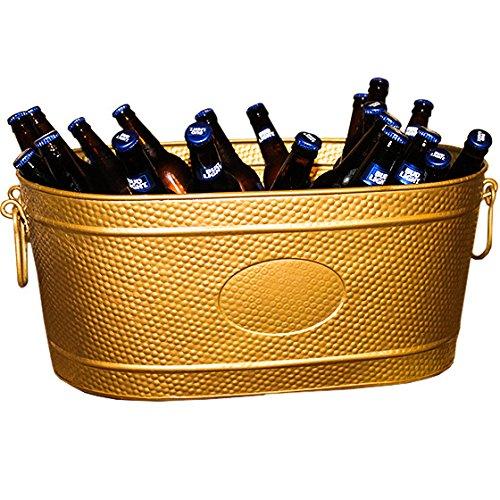 gold beverage tub - 1