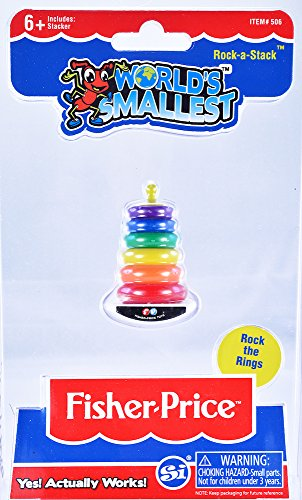 (World's Smallest Fisher Price Classic Rock-a-Stack)