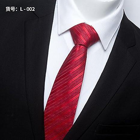 GENTLEE TIE Los Hombres Corbata empresarial Profesional Vestido de ...
