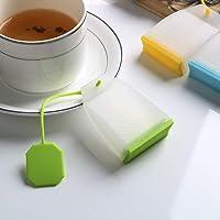 iTimo Herbal Tea Infusers Random Color Tea Strainers Food-Grade Silicone Tea Bag High Temperature Resistance Tea Infuser