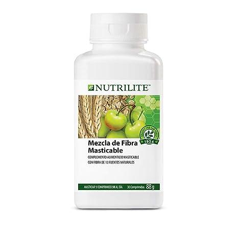 Fibra Masticable NUTRILITE™ - Los comprimidos de Fibra Masticable NUTRILITE contienen fibra dietética de 13