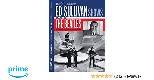 Amazoncom The 4 Complete Ed Sullivan Shows Starring The