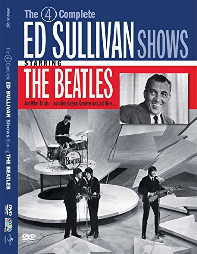 The 4 Complete Ed Sullivan Shows Starring The Beatles (Music Show Dvd)