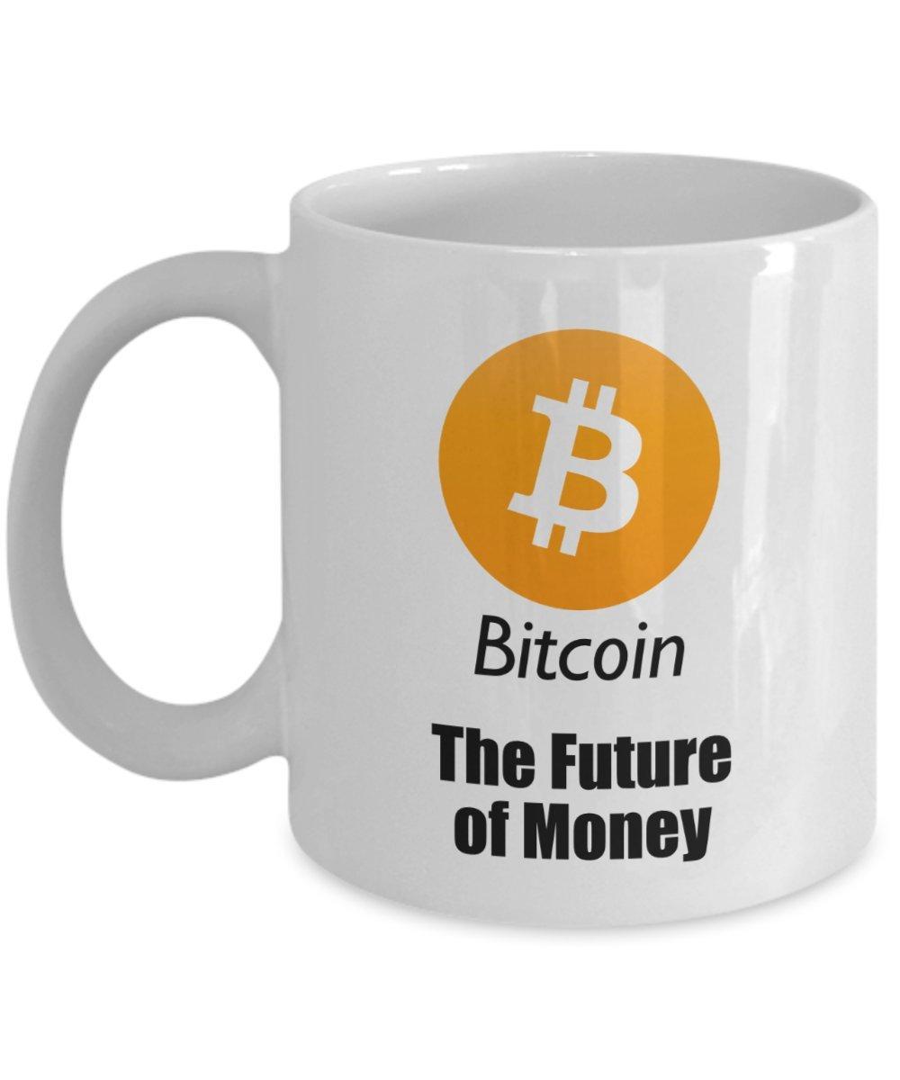 Amazon.com: Bitcoin Future of Money Mug - BTC Coffee Mug ...