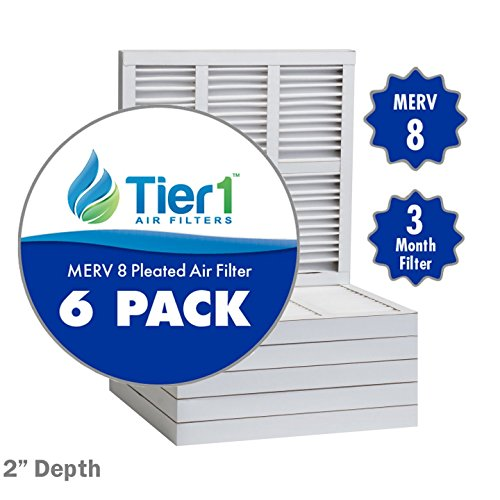 16x20x2 Filtrete Comparable MERV 8 Pleated Air Filter - 6PK