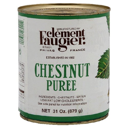 Clement Faugier Chestnut Puree, 31-Ounce Tins (Pack of 2)